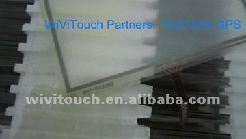 8'' Resistive Touch Panel for TOYOTA GPS Navigator