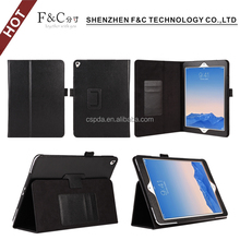 With penholder Function Back stand case pu leather hot selling popular case for ipad pro 9.7 inch case