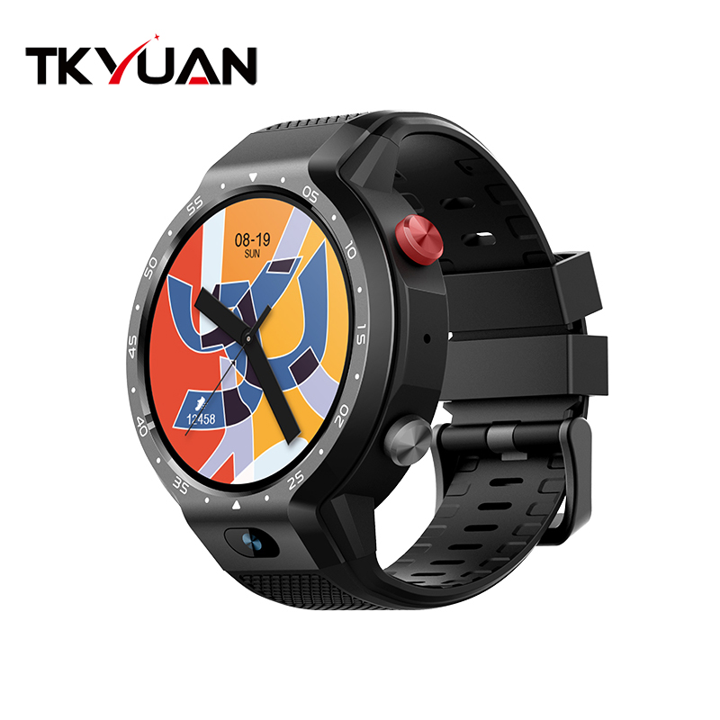 Smart Watch 1GB/16GB Wristwatch Android 4G WiFi GPS Z30 Heart Rate Monitor Support SIM Card Amoled Round Screen For iOS Android