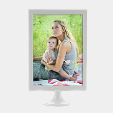 Multifunction discount white table photo frame menu holder