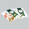 Latest good quality environmental material plastic snack frozen dumplings food packaging bag
