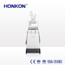 HONKON Opt shr hair removal machine +e-light ipl rf nd yag laser tattoo removal leaving no scar