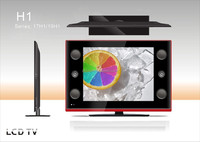 "Cheap 19"" LCD TV with USB play video from Guangzhou factory"
