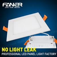 1Pcs Ultra Thin Solar LED Panel Light AC85V 110V 220V Recessed Ceiling Lamps 3W LED Downlight + LED Driver For Indoor Lighting
