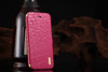 Crocodide grain cowhide leather flip case for huawei ascend g700