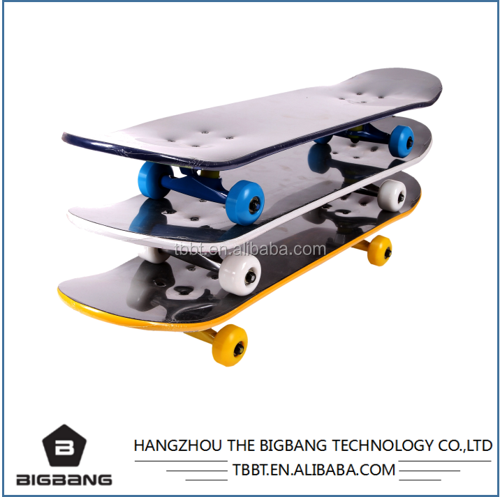 HANGZHOU THE BIGBANG professional deck complete customize skateboard 31inch size retro skate board