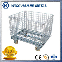 warehouse storage welded mesh wire panels mesh cages