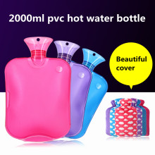 Hot sale pvc hot water bottle
