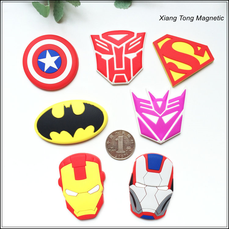 Hot Sale Customized Size Soft rubber fridge magnets