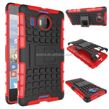 For Microsoft 930 Cover Dual Layer Armor Silicone Hard Non slip Plastic Skin Holder Stand Case For Microsoft 930
