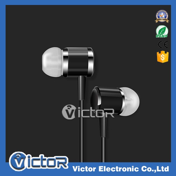 2016 white mic earphone travel handsfree kit for Apple phones for cell phone