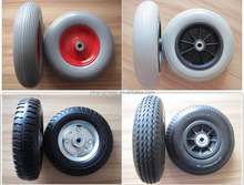 "Heavy duty Solid Rubber Wheels 8"" 10"" 12"" 13"" 14"" 15"" 16"""
