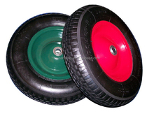 competitive price 4.80/4.00-8 wheelbarrow air wheel/inflatable wheel barrow tire