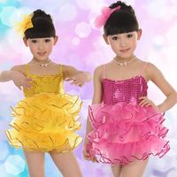 children dance costume and modern dance performance dance dress wholesale