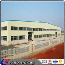 Prefabricated Steel Structure Industrial Frame Workshop Barn Drawing