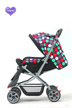 Modern Baby Pram Stroller Lightweight With Five Point Safety Belt