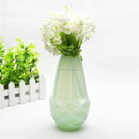 Glass vase for hotel decoration quality art deco vase for sale