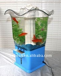 Acrylic Fish Tank,Perspex Fish Aquarium,Lucite Displaying Goldenfish Tank