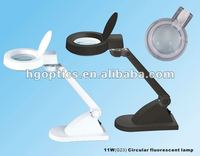 beauty magnifying lamp/optical magnifier lamp/led illuminated magnifier lamp