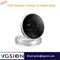 720P Support Two Way Audio 3D Voice Network Camera To Watch Baby