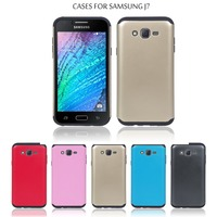 Wholesale 5.5 inch Full Protective and Waterproof PC + TPU Tough Armor Mobile Phone Case for Samsung Galaxy J7