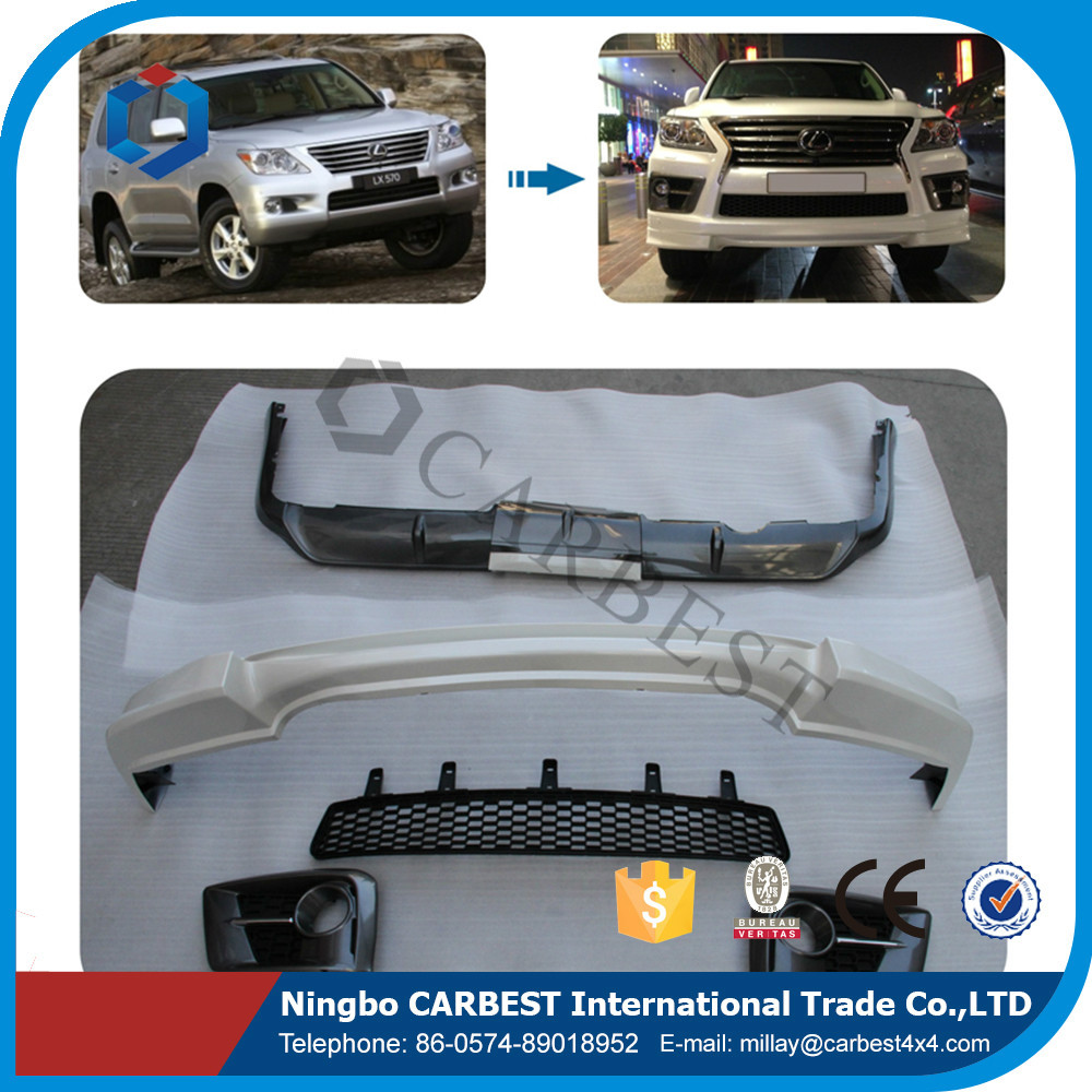 High Quality Front Bumper BODY KIT for LEXUS LX570 SPORT 2014