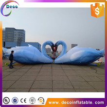 wedding event decoration inflatable decoy cartoon characters swan goose