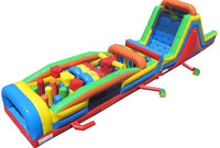 super inflatable obstacle course for sale, outdoor obstacle course equipment