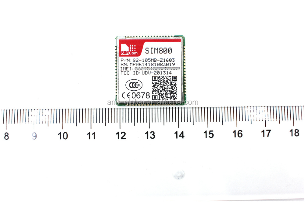 Programmable SIM800H Module Cheap GPRS GSM Data Module