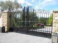 Cheap indian house main gate designs/used wrought iron door gates/modern iron gates models