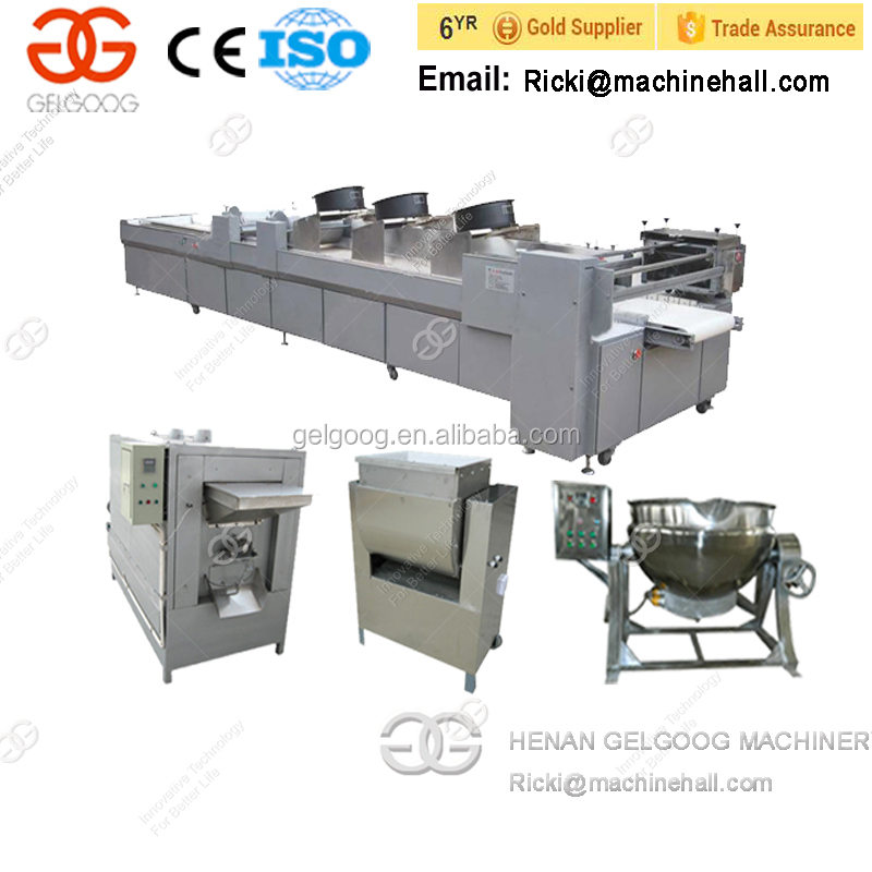 Wholesale CE Approved Peanut Cereal Candy Bar Production Line