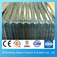 DX51D+ZF sheet metal roofing shingles 24 gauge corrugated steel roofing sheet