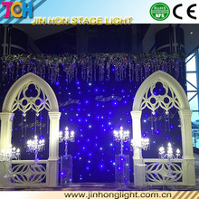 DMX led party decoration stage effect led starlit curtain