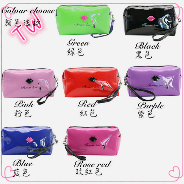 professional high quality factory price leather makeup bag <strong>cosmetic</strong> with zipper free samples online shopping