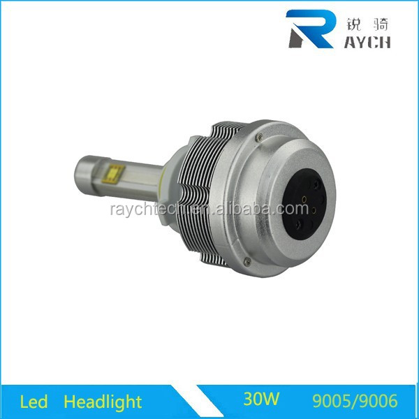 Motorcycle&CAR led headlight 9004 9005 9006 9007 H1H4H7H11H13 30W 3600LM 6000K with CE, RoHs,Emark