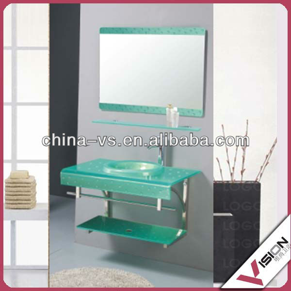 glass basins for bathrooms