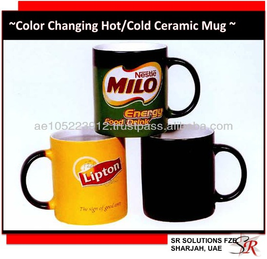 Color Changing Ceramic Mug