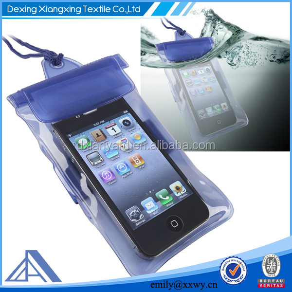 Waterproof Swimming Beach Pouch Pack Case Cover With lanyard For Cell Phone