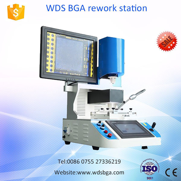 Wisdomshow mobile ic laser bga soldering rework station WDS-700 for iphone 7 logical board repair with optical alignment system