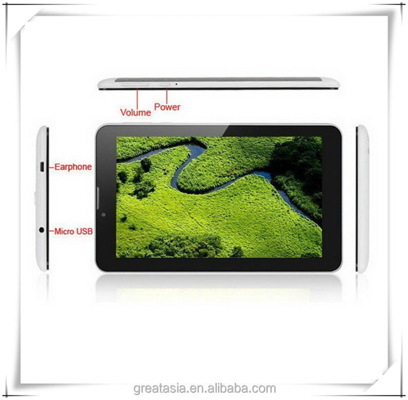 Phablets Low price 7 inch MTK6572 built in 3g tablet pc distributors