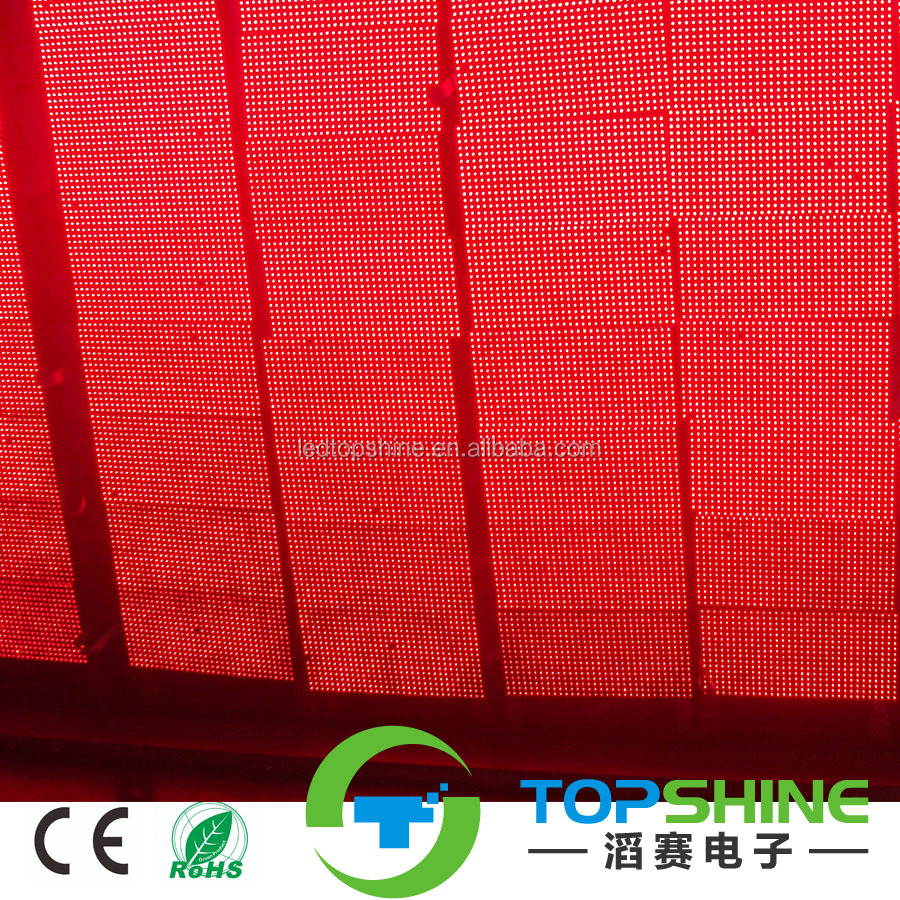 Outdoor led display modules 32x16 p10 p8 p6 red/white/green/yellow/rgb single color