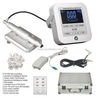 Semi Permanent Makeup Kit With Tattoo Case, PMU Handpiece Eyebrow Tattooing Micropigmentation Machine