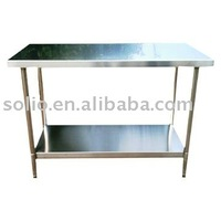 stainless steel metal table out door table restaurant work table