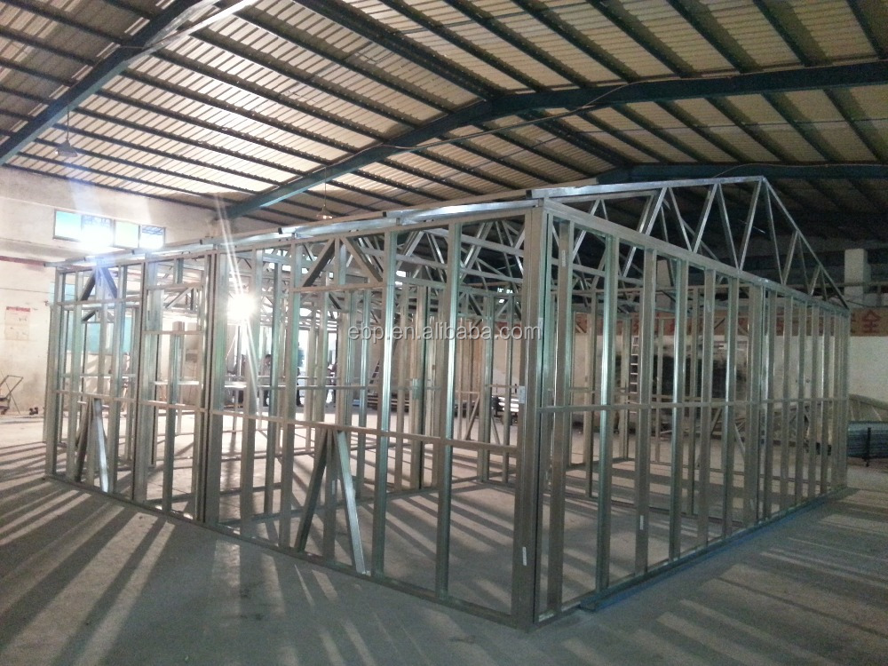 2015 Light Gauge Steel Joist for walls and roof trusses of residential buildings Shenzhen factory