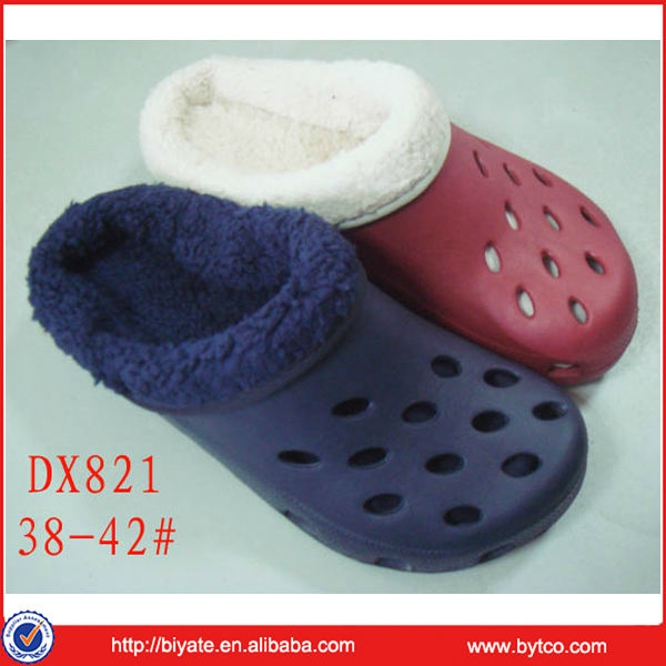 New Design Winter Warm Clogs