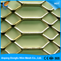 new design fashion low price exterior decorative expanded metal mesh