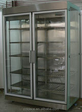 Glass Door Refrigerator for Flower Flower Showcase Refrigerator OEM Available