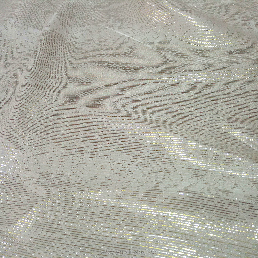 New Product mulberry silk metallicfabric silk lurex silk