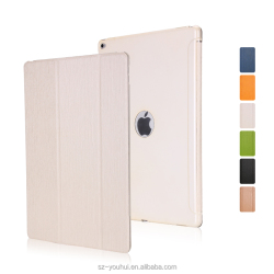 Best Selling PU Leather Stand Protective Flip Cover PC Back Case for iPad Pro 12.9 inch