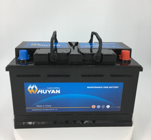 DIN80 12V 80AH Automobile Battery for car